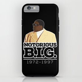 Christopher 'Notorious B.I.G.' Wallace iPhone Case