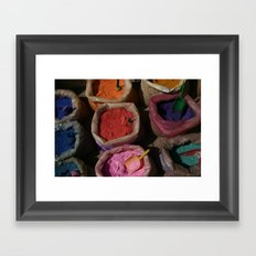 Pigments Framed Art Print