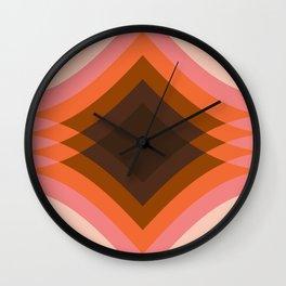 Neopolitan Stack Wall Clock