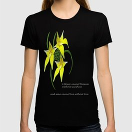 Cowslip Orchid Love Celtic Knotwork Heart T-shirt