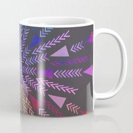 Multicolored geometric firework Coffee Mug