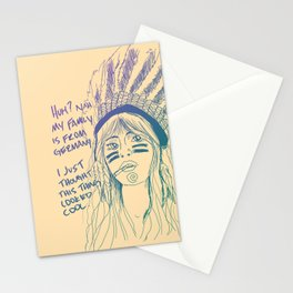 Attention Whore - Color Stationery Cards