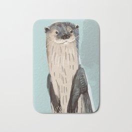 New World otters Bath Mat