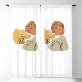 Antique Feeling #9 Blackout Curtain