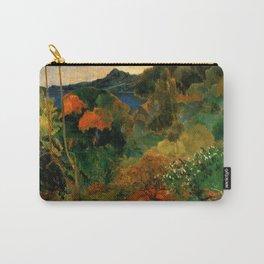 """Paul Gauguin """"Martinique Landscape (Tropical Vegetation)"""" Carry-All Pouch"""