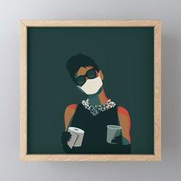 Breakfast at Quarantine Framed Mini Art Print