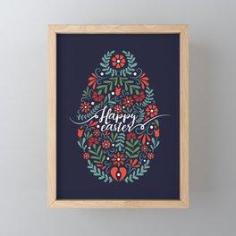 Happy Easter Framed Mini Art Print