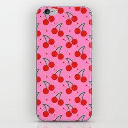 Cherry Bomb Pattern iPhone Skin
