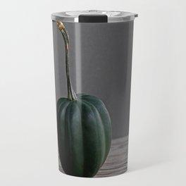 """Acorn"" Squash no. 18 -- Still Life Squashes & Potirons Travel Mug"