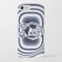 bond iPhone & iPod Cases featuring Bond Girl by Brian Raggatt