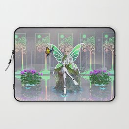 Tinkerbot and the Digital Forest Laptop Sleeve