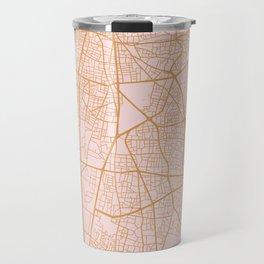 Beirut map Travel Mug