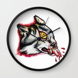 Cyclopes wolf  Wall Clock