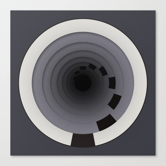 Circles Around Circles Canvas Print