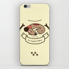 Milou  iPhone & iPod Skin