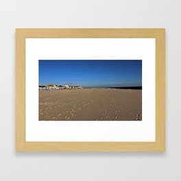 Footsteps Framed Art Print