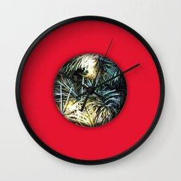 Christmas Warm I Wall Clock