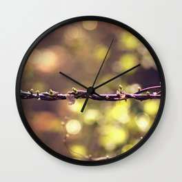 Twisted Vine Wall Clock