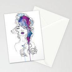 Girl #3 Stationery Cards
