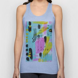 Abstract from 1980 Unisex Tank Top