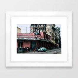La Floridita Framed Art Print