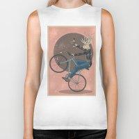 jackalope Biker Tanks featuring Jackalope by Kelli Shaver