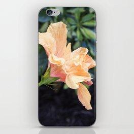 Jane Cowl Tropical Hibiscus Side Profile iPhone Skin