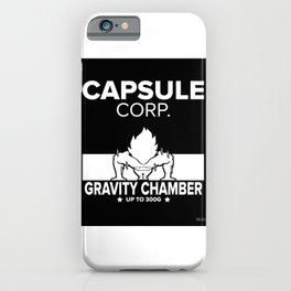 Gym Saiyan iPhone Case