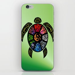Bagua Turtle iPhone Skin