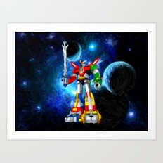 Voltron - Painting Style Art Print