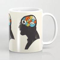 heisenberg Mugs featuring Heisenberg by Wharton