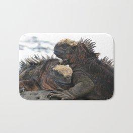 Iguana Love Bath Mat