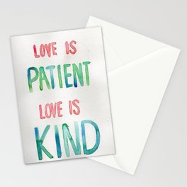 Love is Stationery Cards