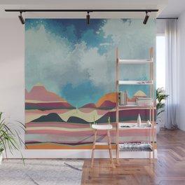 Pink Desert Glow Wall Mural