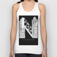 nyc Tank Tops featuring NYC  by Robert Farkas