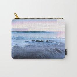 San Simeon Sunrise Pixel Sort Carry-All Pouch