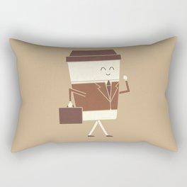 Off To Work Rectangular Pillow