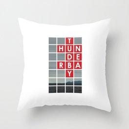 Thunder Bay Throw Pillow