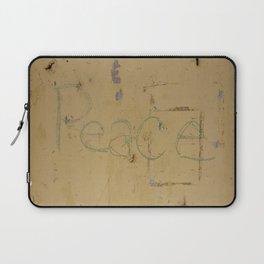 Peace Grafitti Laptop Sleeve