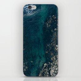 ocean blues II iPhone Skin