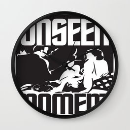 UNSEEN MOMENTS Wall Clock
