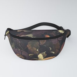 Vintage & Shabby Chic - Flowers at Night Fanny Pack