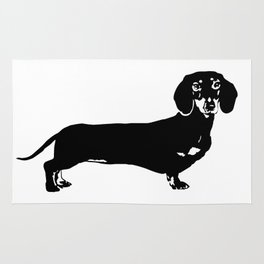 Dachhund Dog Rug