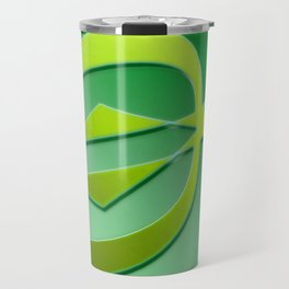Arrow green Travel Mug