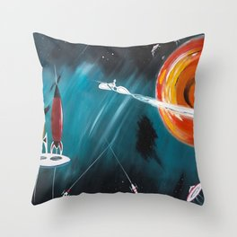 Jupiter! Throw Pillow