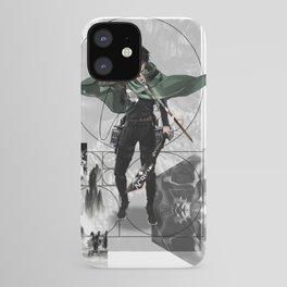 Captain Levi Attack on Titan Shingeki no kyojin iPhone Case