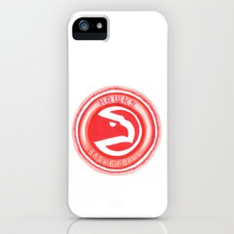 HAWKS HAND-DRAWING DESIGN iPhone Case
