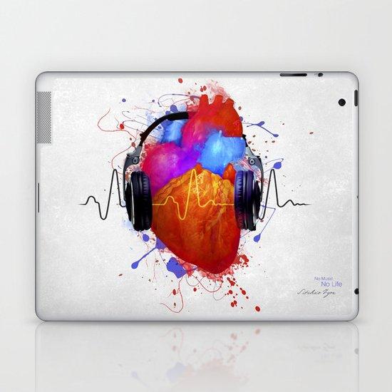 No Music - No Life Laptop & iPad Skin