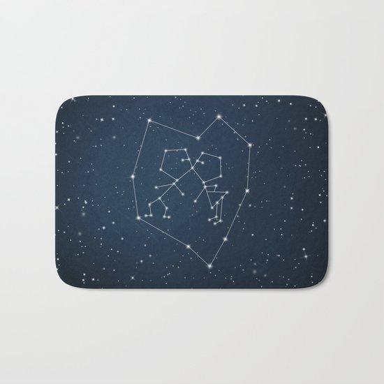 Written in The Stars Bath Mat