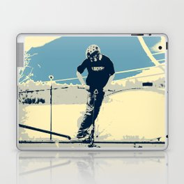 On the Rim - Scooter Boy Laptop & iPad Skin